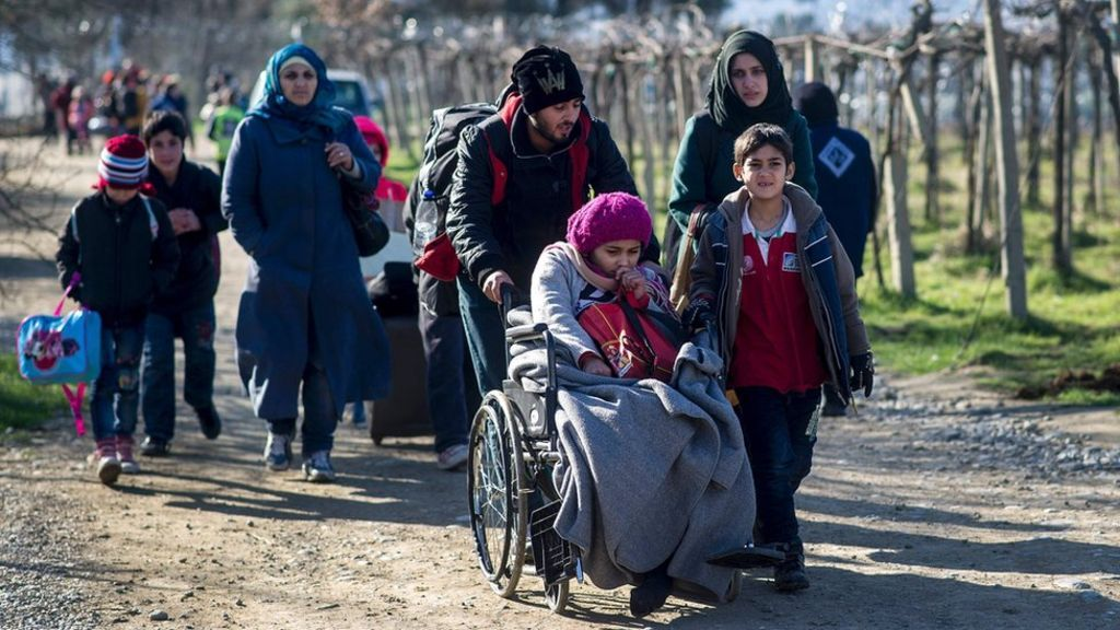 Greece recalls envoy in migrant row Bbc news