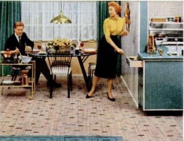 How to recognize Congoleum Nairn floor tiles linoleum or
