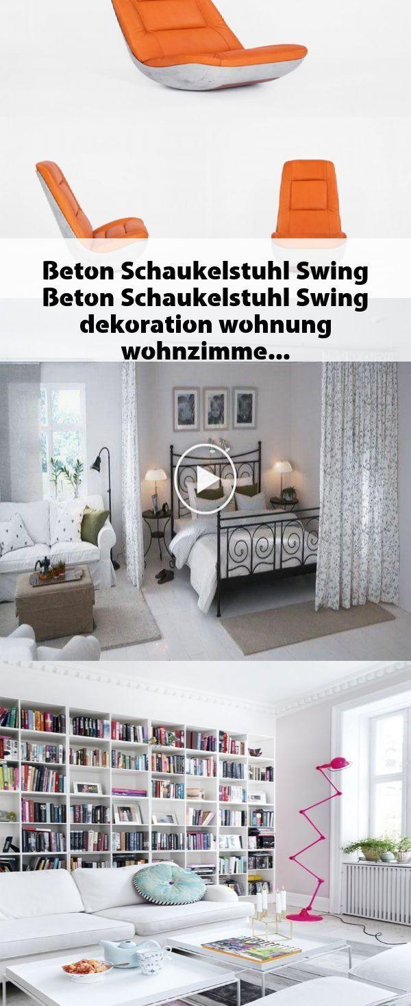 Photo of Betonschaukelstuhl Schaukel #Beton #Schaukelstuhl #Schaukel #Dekoration #Wohnung