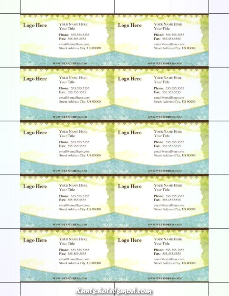 Fantastische Zeugen Sie Ihre Visitenkarten Zum Kostenlosen