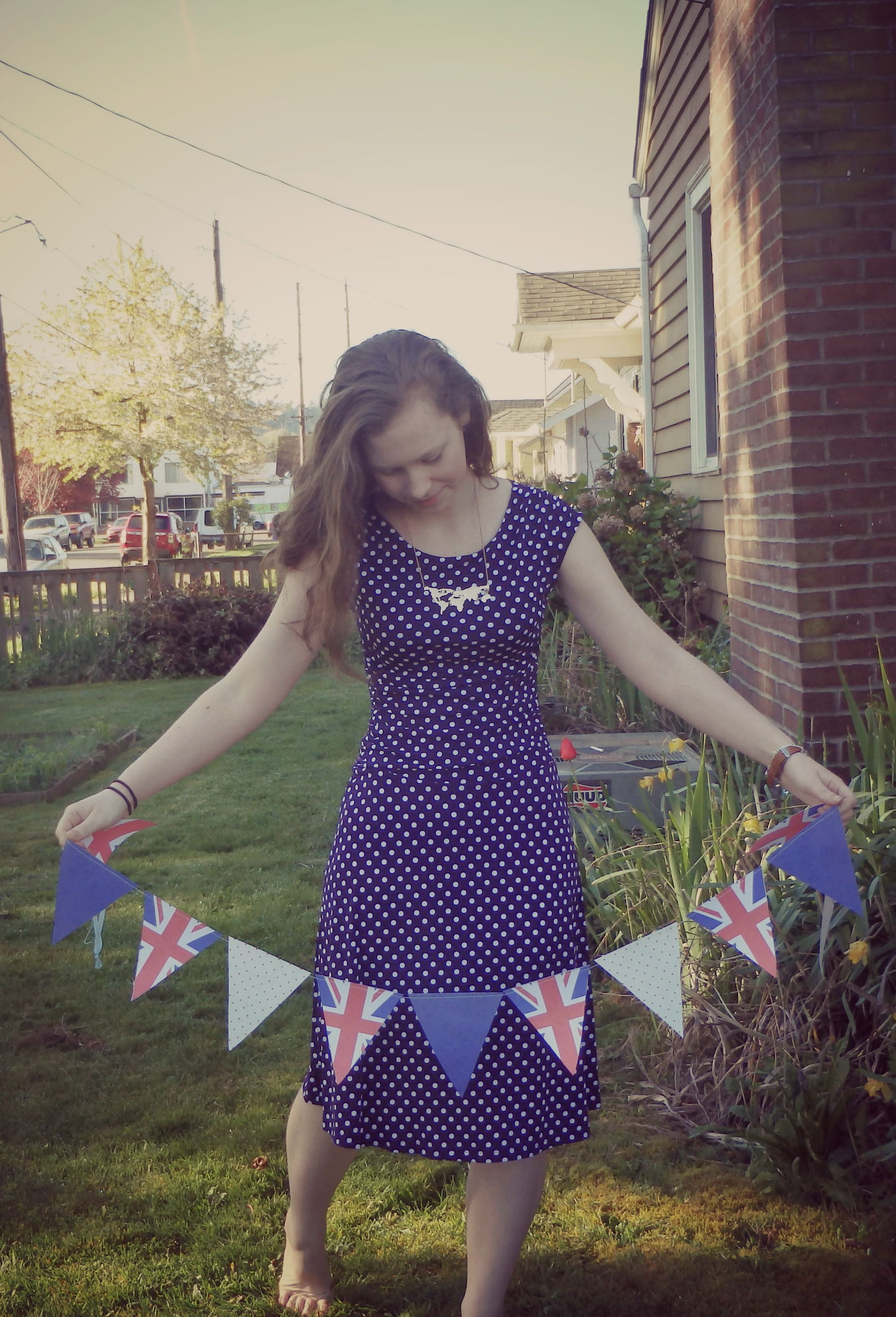 Union Jack Party Bunting from Pinecone Apparel on Etsy