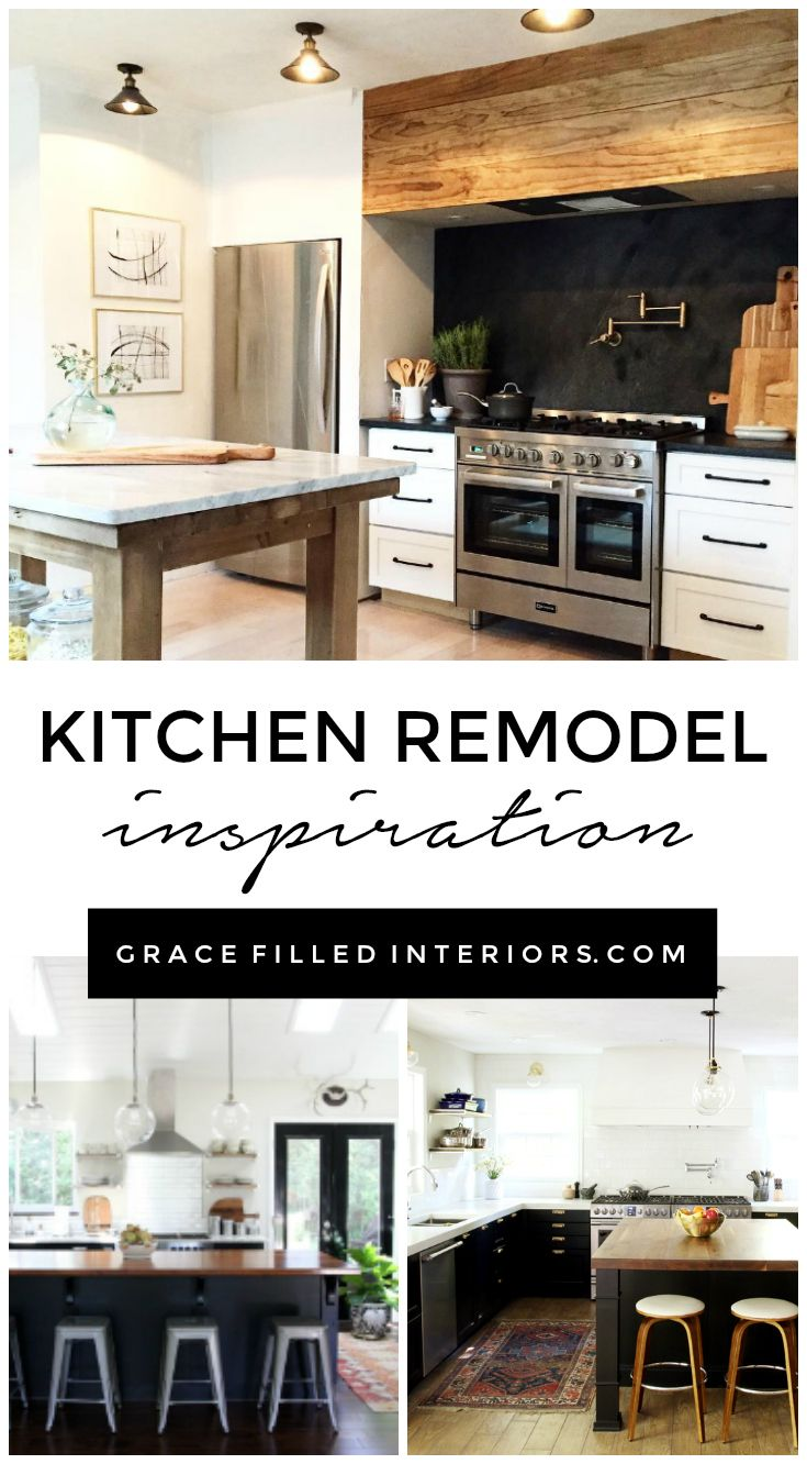 OUR KITCHEN REMODEL- THE BEFORE + INSPIRATION | Kitchens and Inspiration