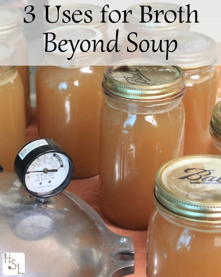 Soup broth is a great way to avoid waste and the basis for many meals. Keep these 3 uses for broth beyond soup in mind for delicious meals.