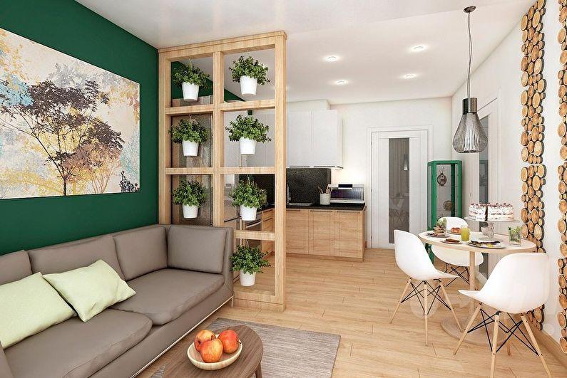 Дизайн гостиной: 75 фото интерьеров, идеи для ремонта зала ...