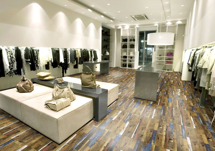 Another exciting example of cork use in the latest flooring trends - industrieller schick design dachwohnung