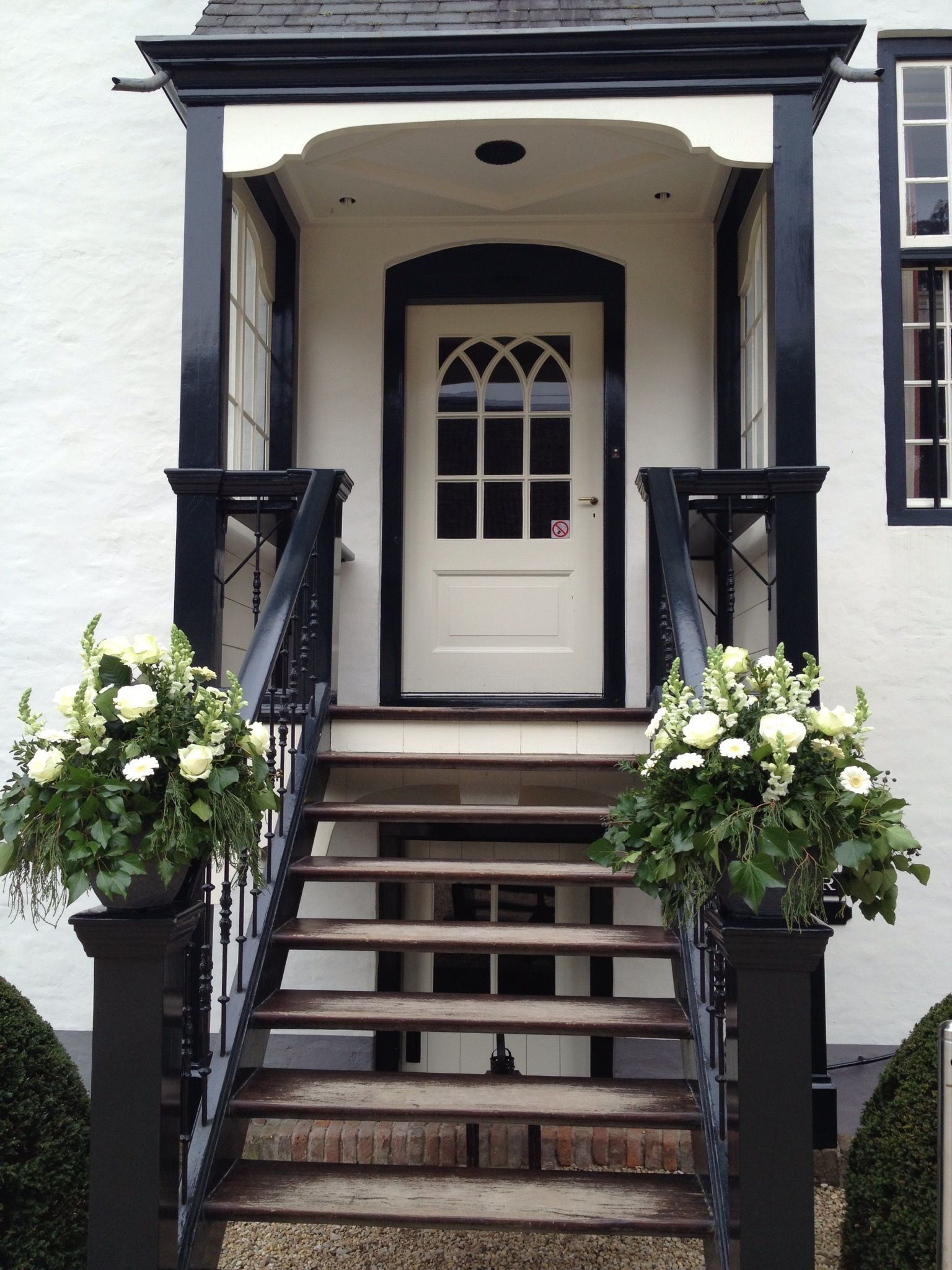 Bloemen entree Slot Doddendael
