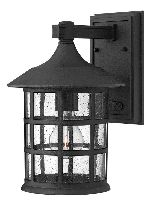 View the hinkley lighting 1804 gu24 1225 height 1 light lantern hinkley lighting 1804op gu24 olde penny 1 light outdoor wall sconce from the freeport collection lightingdirect aloadofball Images