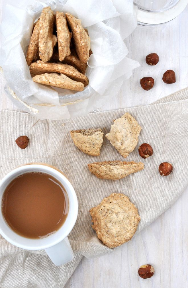 Anja's Food 4 Thought: Hazelnut Vanilla Meringue Cookies...try this w/ Swerve as sweetener