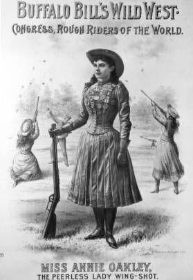Annie Oakley poster :: Western History