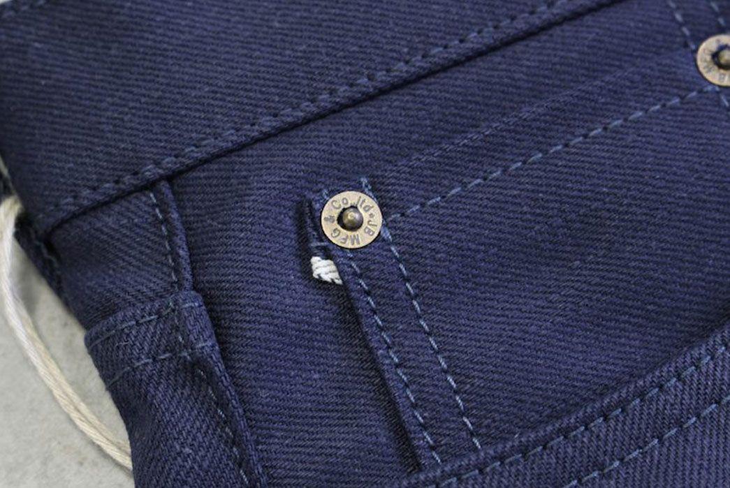Japan Blue Jeans' New Line - Indigo Man