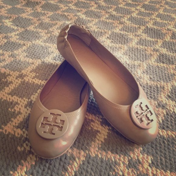 Tory burch Minnie travel flat French grey Tory Burch Shoes Flats & Loafers