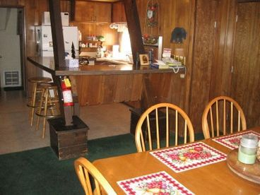 """Cabin """"A Ski View"""" interested in this cabin call us at 800-693-0018 or visit our website at www.villagereservations.net"""