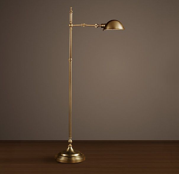 Franklin Pharmacy Task Floor Lamp Antique Brass --- need this in the ...