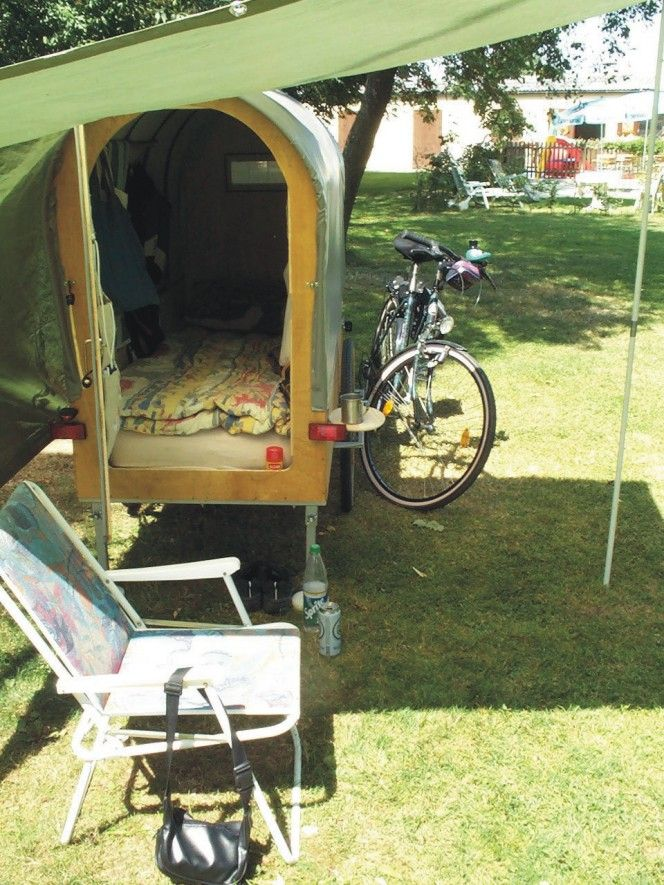 Pin Von Dieter Buss Auf Fahrrad Fahrrad Wohnwagen Radfahren Camping Anhanger