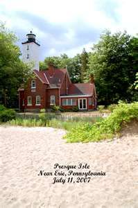 Presque Isle Lighthouse Erie Pa My Hometown Presque