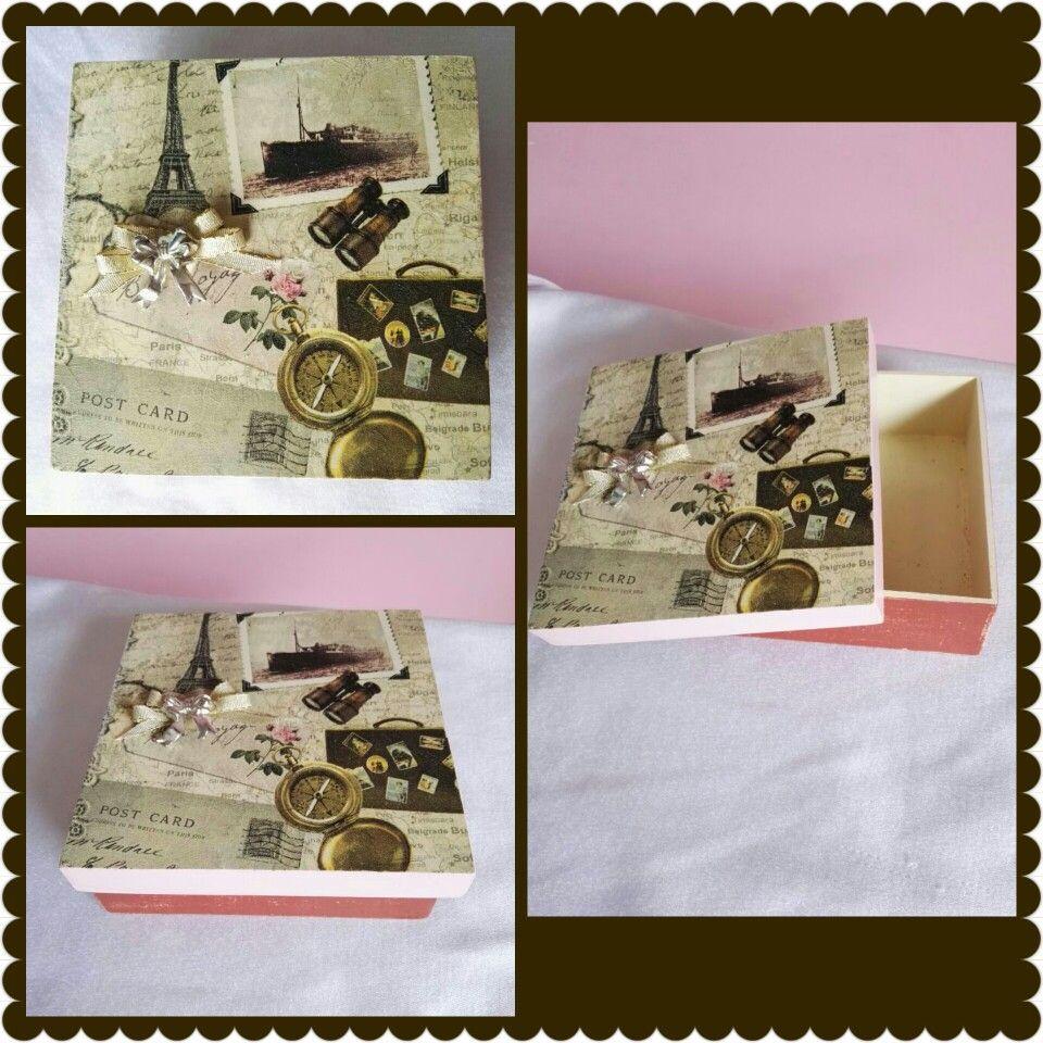 Caja para guardar moños, lazos, cintillos, etc., etc.