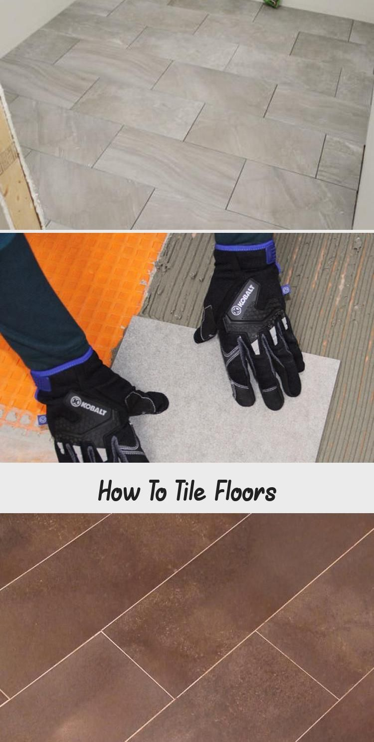 How To Install Ceramic Tile Floor In The Bathroomhow To Lay Tile Install A Cera How To Install Ceramic Tile Floor In Th In 2020 Flooring Tile Floor Tile Installation