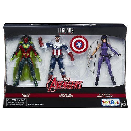 c10b95d7670 Marvel Legends - Avengers 3-Pack - Marvel s Vision