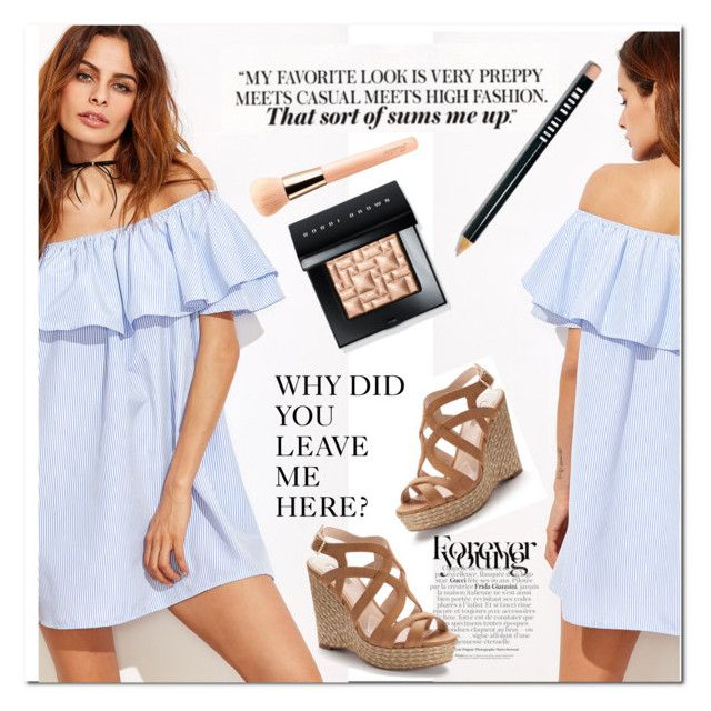"""""""I have questions"""" by rosana188 ❤ liked on Polyvore featuring Jennifer Lopez, Bobbi Brown Cosmetics and Guerlain"""