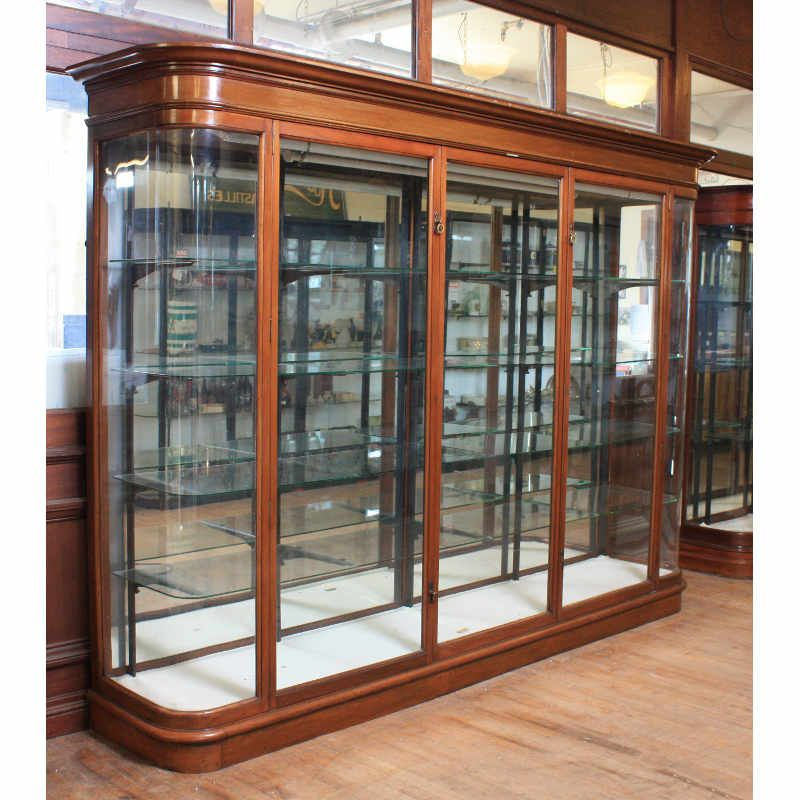 Victorian jewellers shop display cabinet  Shop Fittings