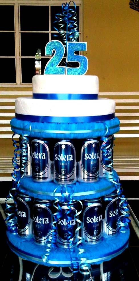 Torta de cervezas para adultos dubravka gutierrez cakes - Fiesta cumpleanos adulto ...