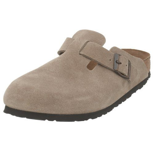 $130.00-$130.00 Birkenstock Boston Clog,Taupe Suede,47 N EU - Imitated by many, the Birkenstock Boston Suede Clog - Narrow is the original classic clog wit a narrow fit; versatile for men, women and kids. Going strong after 30 years, this clog is a wardrobe basic year round. Enjoy the closed-toe comfort and support. Features an adjustable strap for fit..... http://www.amazon.com/dp/B000EYBK38/?tag=icypnt-20