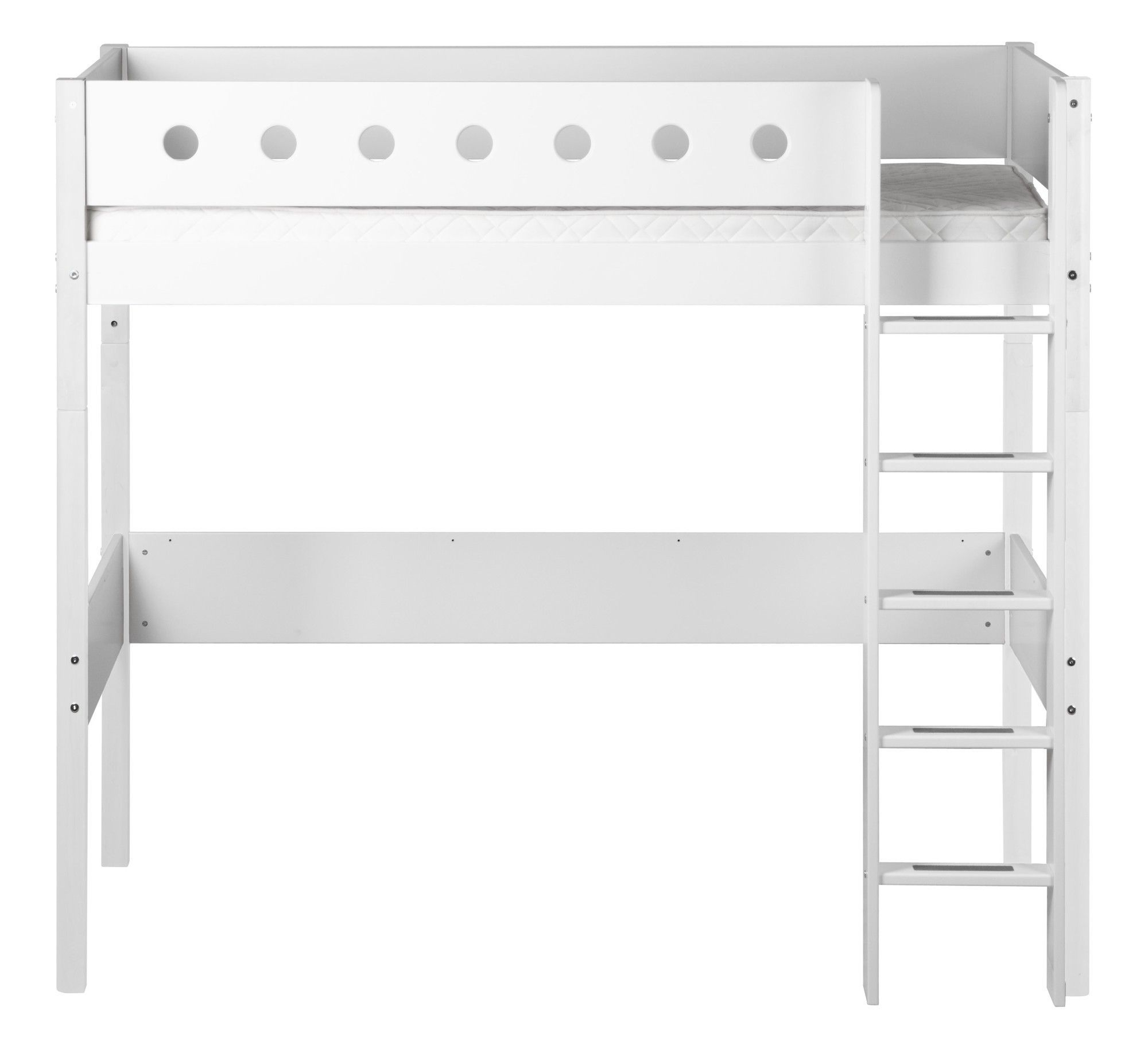 Loft bed with desk white  Twin Loft Bed  Products  Pinterest  Products
