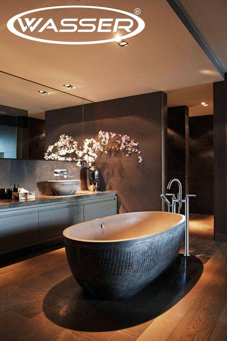 """Wasser México on Twitter: """"La decoración del baño busca con gran detalle cada elemento. #architecture #arquitectura #bathroom #design #diseño https://t.co/JNNab9bpTE"""""""