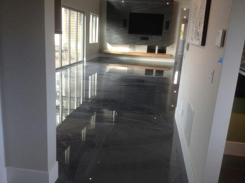 Concrete Look Flooring In 2020 Epoxy Resin Flooring Flooring