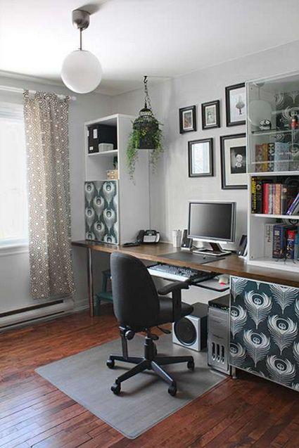 Decora Una Oficina Con Poco Dinero Decoracion De Interiores Y Exteriores Estiloydeco Decoracion De Interiores Oficinas De Diseno Decoracion Oficina
