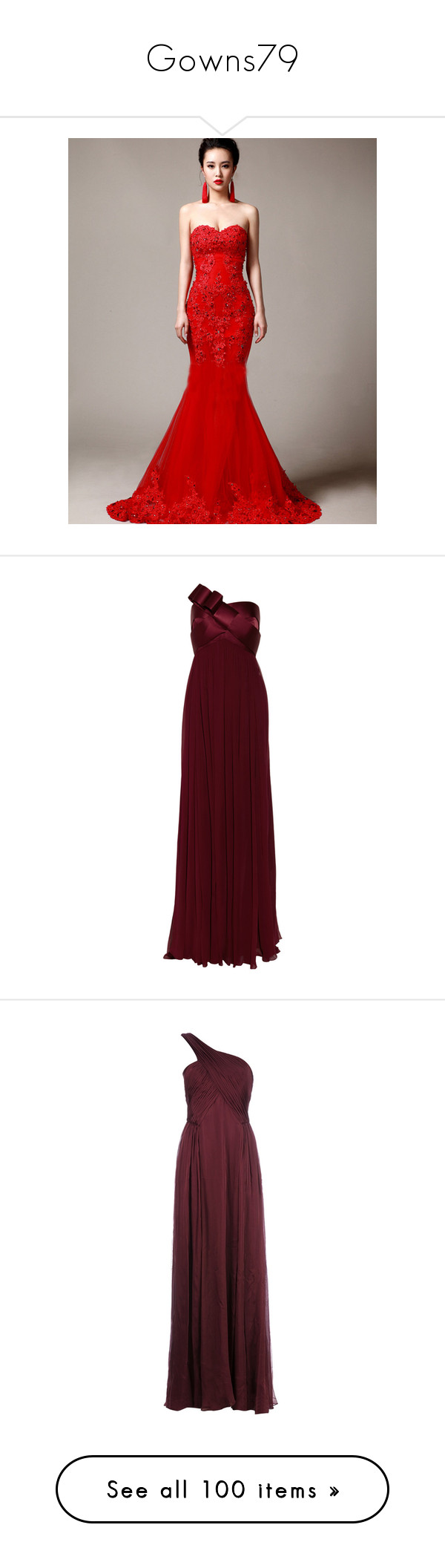 Red ball gown wedding dress  Gowns