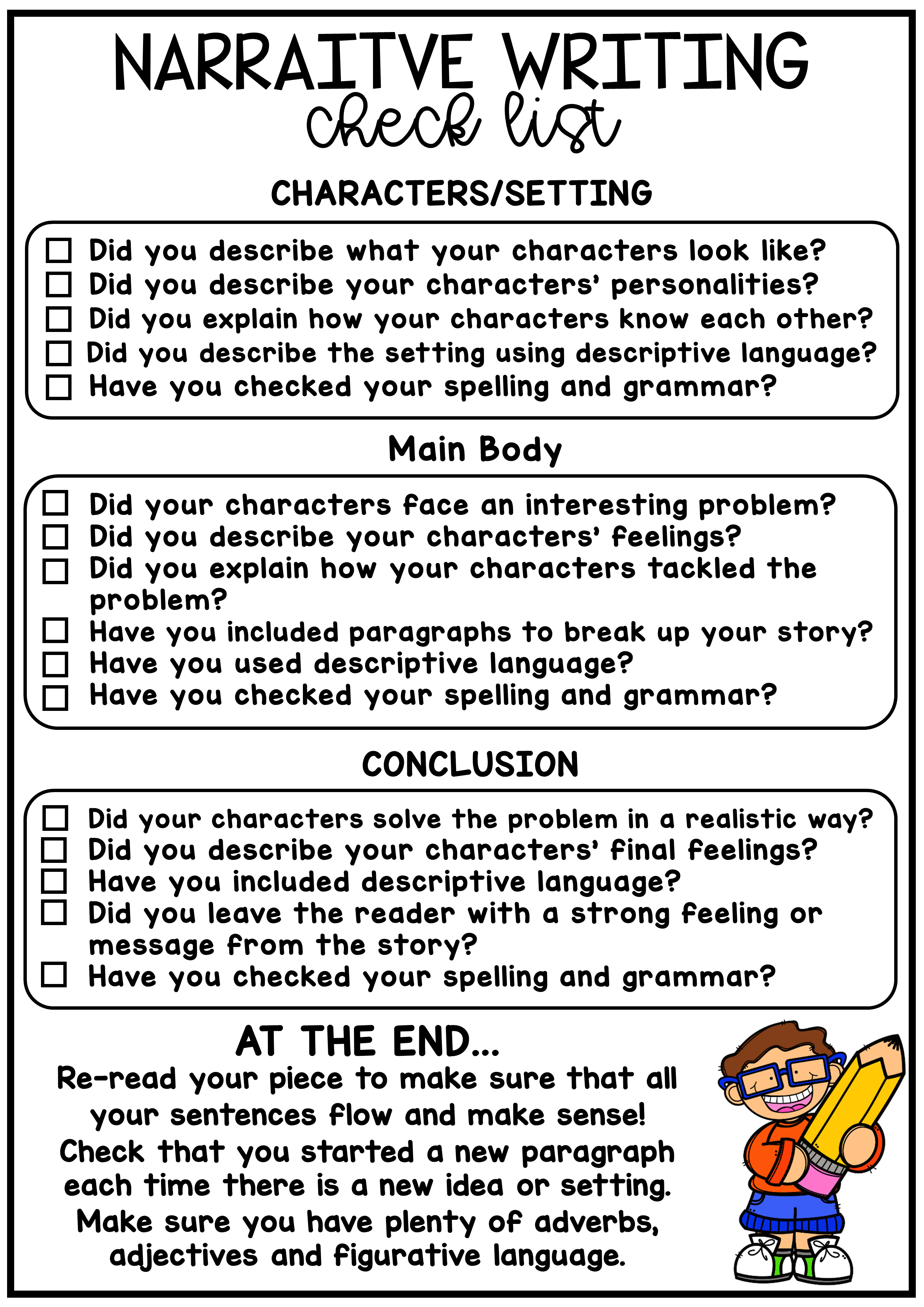 Narrative Writing Worksheet Pack - No Prep Lesson Ideas   Persuasive  writing [ 3508 x 2480 Pixel ]