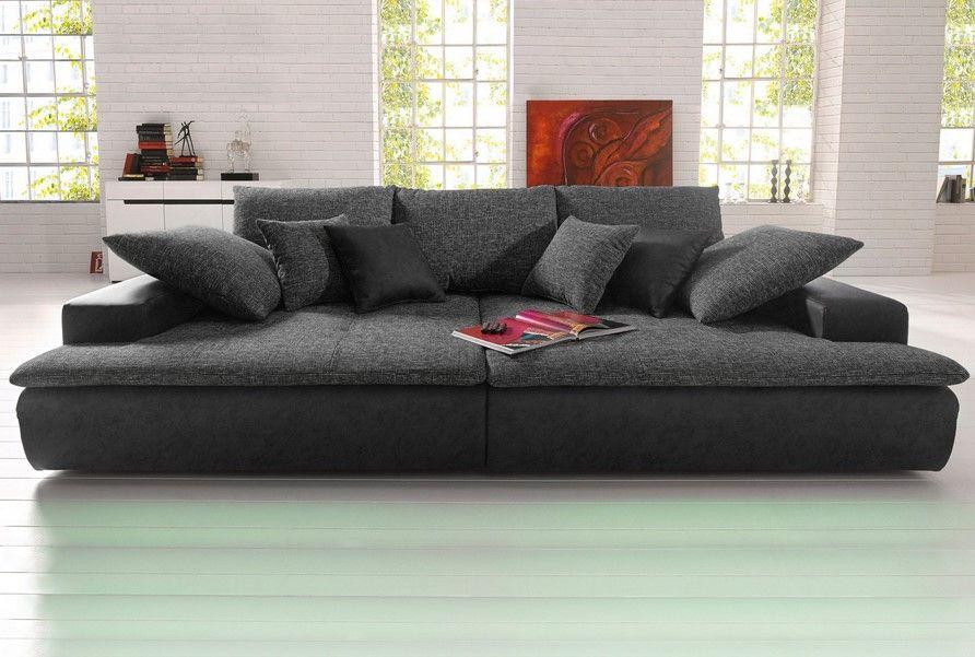 canap xl ou xxl microfibre et tissu aspect tweed canap. Black Bedroom Furniture Sets. Home Design Ideas
