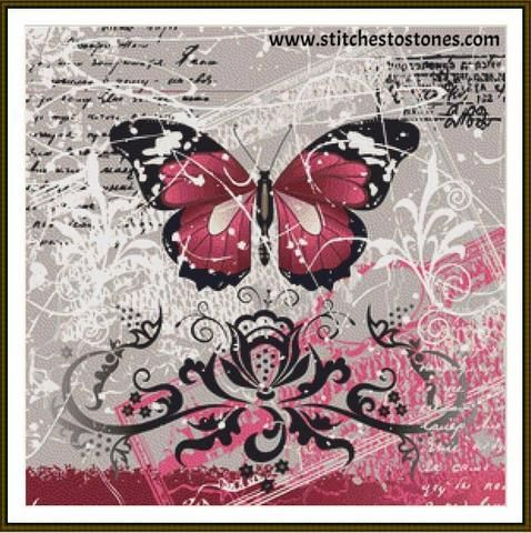 Butterfly Dreams Full Coverage 5d Diamond Painting Kit