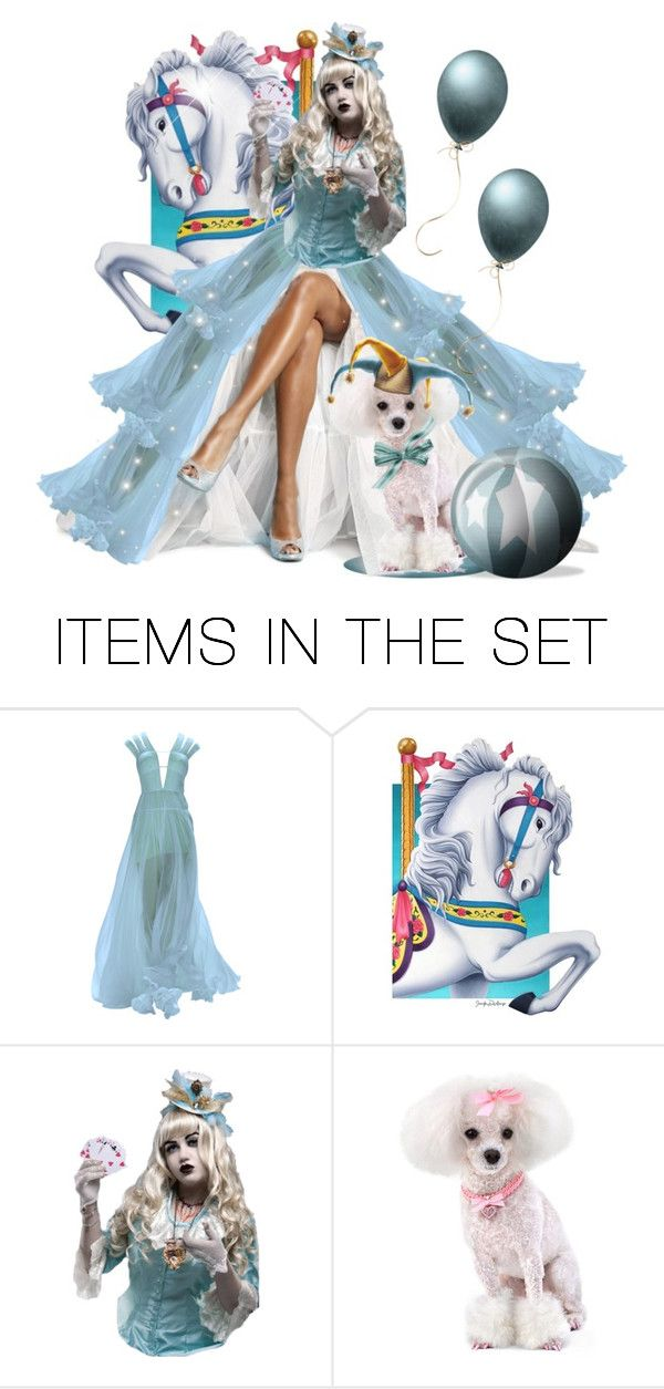 """""""Dog & Pony Show"""" by itsablingthing ❤ liked on Polyvore featuring art"""