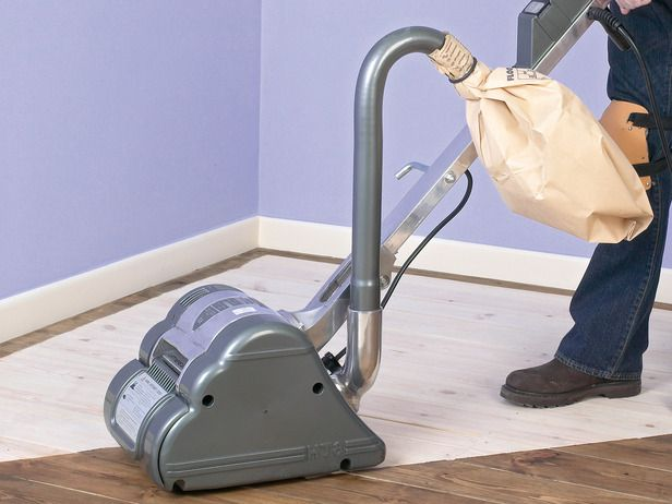 How to Sand a Hardwood Floor : How-To : DIY Network