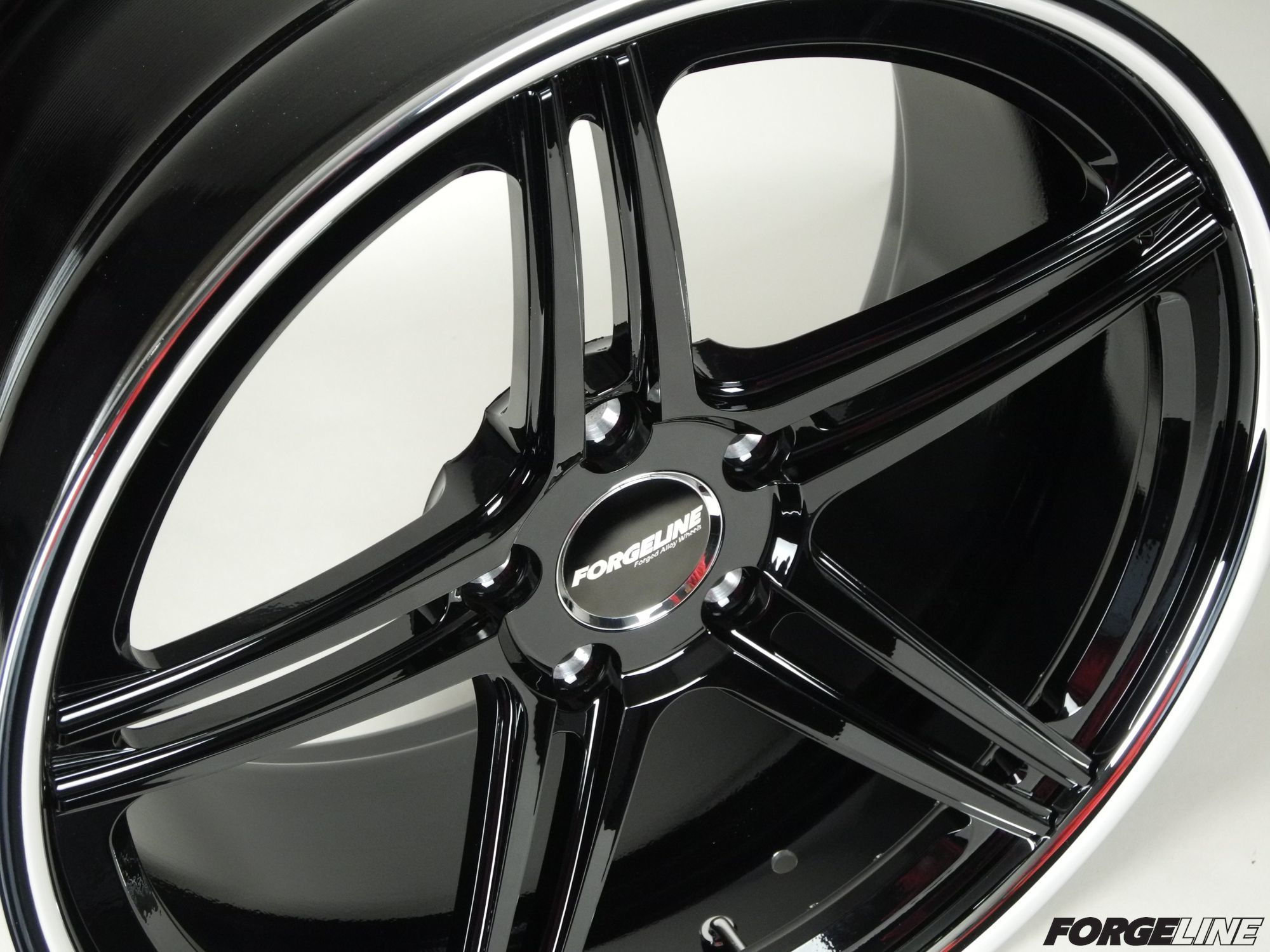 Every order gets its own custom finish. This SC3C for Wheel Enhancement is finished with a Gloss Black center, Gloss Black inner, and Polished outer. Learn more about the SC3C at: http://www.forgeline.com/products/concave-series/sc3c-concave.html