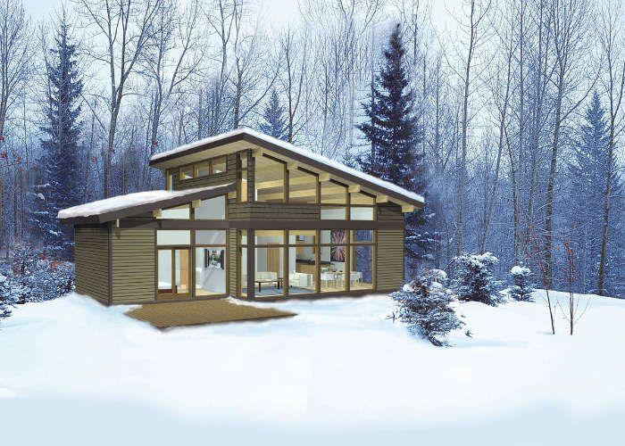 Eco home building kits pinterest house kits for Lindal log cabin homes