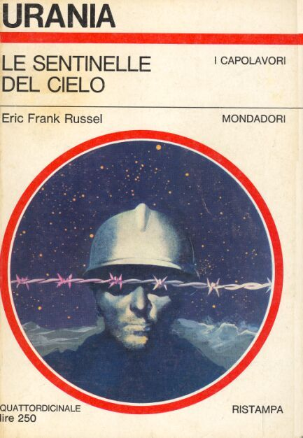 470  LE SENTINELLE DEL CIELO 10/9/1967  SENTINELS FROM SPACE  Copertina di  Karel Thole   ERIC FRANK RUSSELL