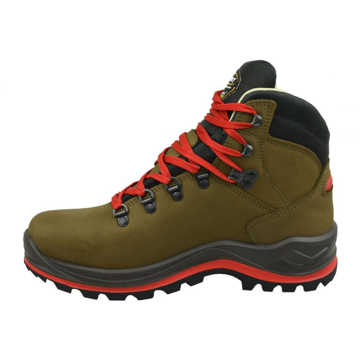 Grisport Marrone M 13701n32g Shoes Brown Comfortable Hiking Boots Nubuck Leather Shoes