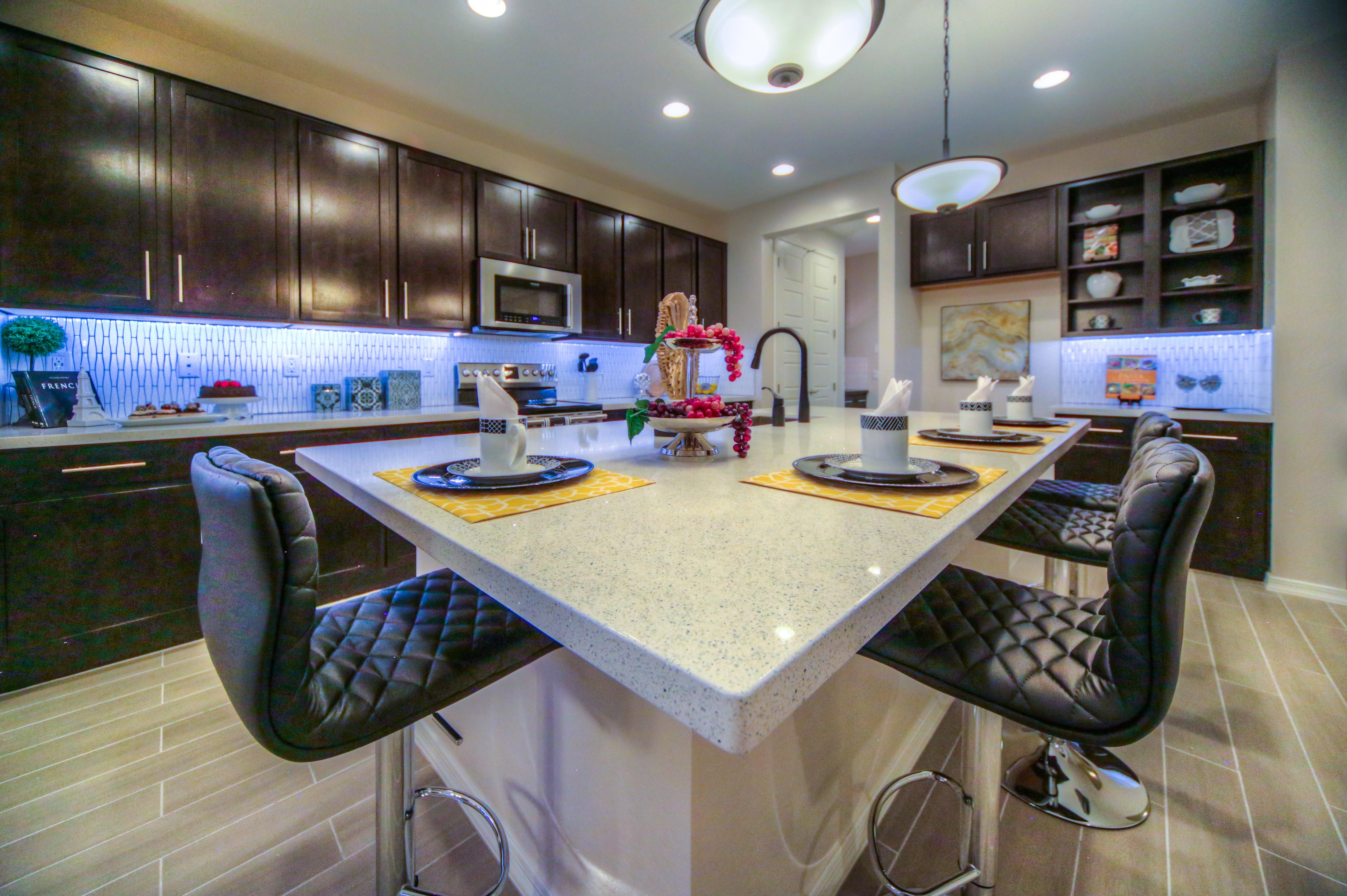 Model Home Designjoan Turner And Kimberly Haag Contemporary New Kitchen Model Design Design Inspiration