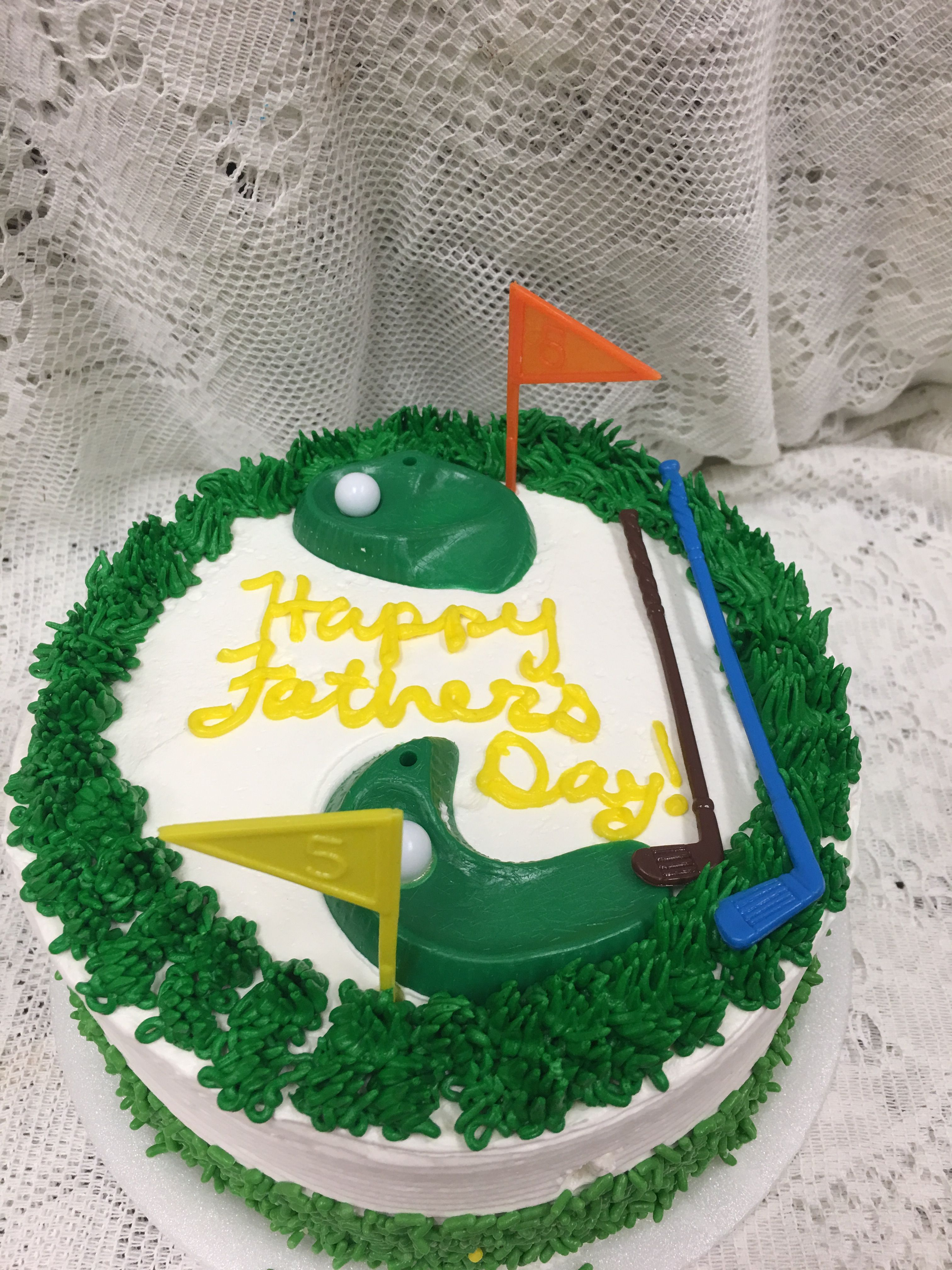 Father's Day Golf Cake - Mueller's Bakery