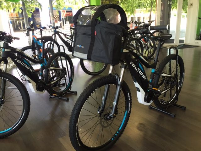 KlickFix Cesta de bicicletas