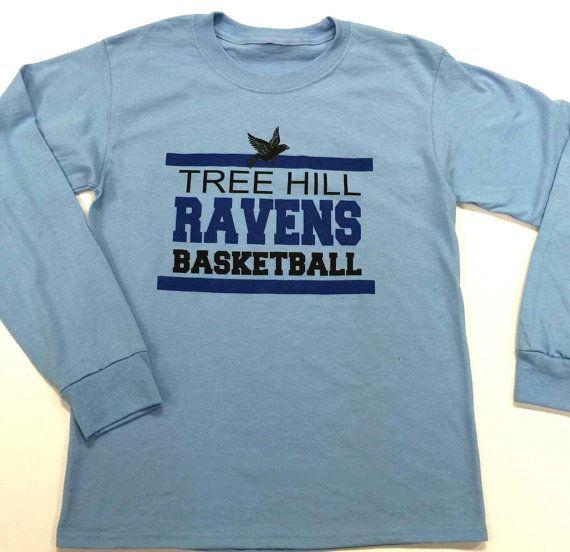 One Tree Hill Ravens Basketball Light Blue by OceanBreezeCustomTee