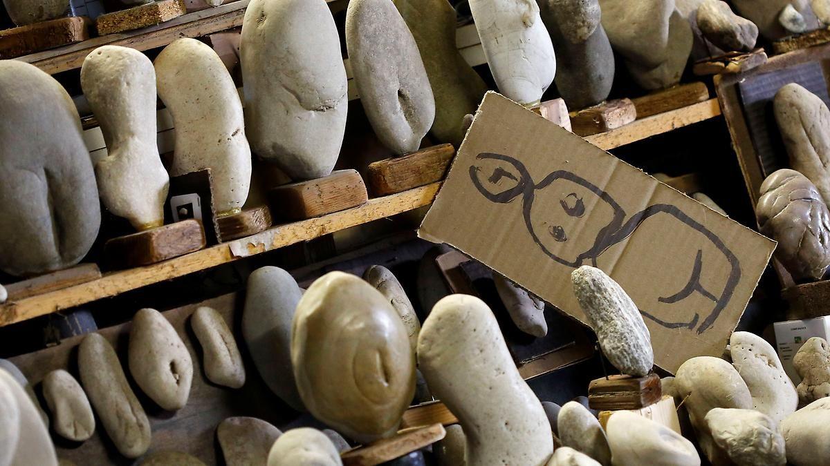 Marotte oder Kunstwerk?: Italiener sammelt Steine