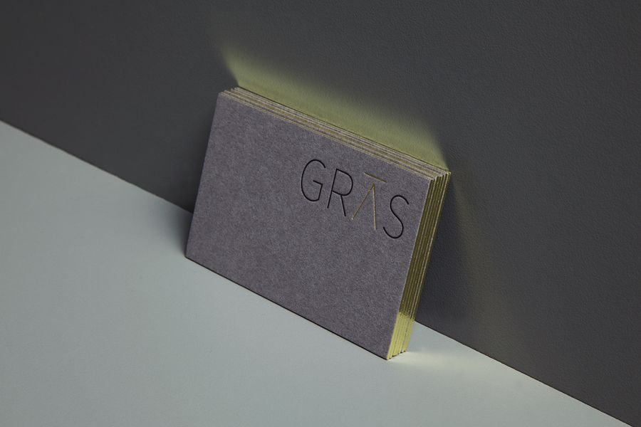 Gras & Groves-Raines Architects by Graphical House | Business cards ...