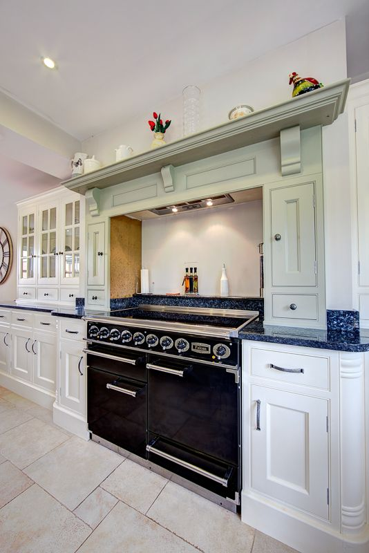 The Custom Made Surround Above The Cooker Not Only Provides A Display Shelf For Pretty Plates