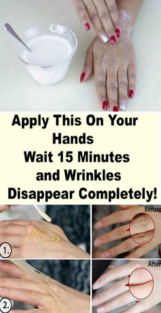 Apply This On Your Hands, Wait 15 Minutes And Wrinkles Disappear ...
