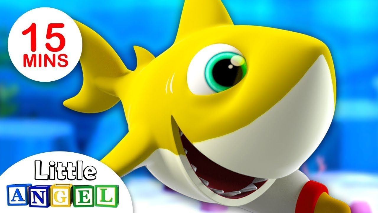 Especial Bebe Tubarao Baby Shark Videos Infantis Little