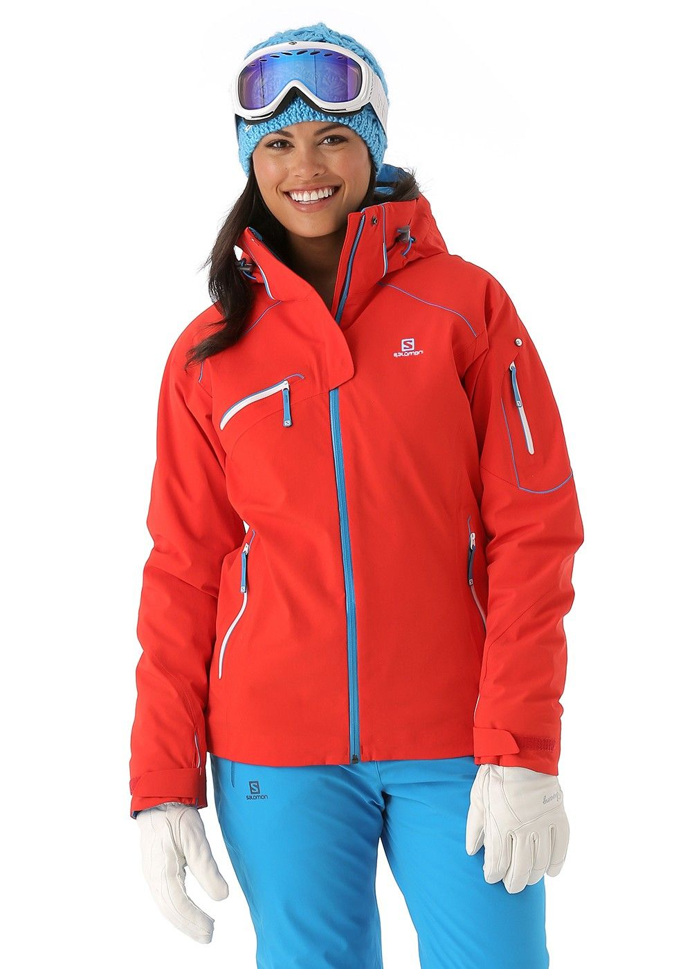 Salomon Women s Speed Jacket (Poppy) from WinterWomen.com 13525943b